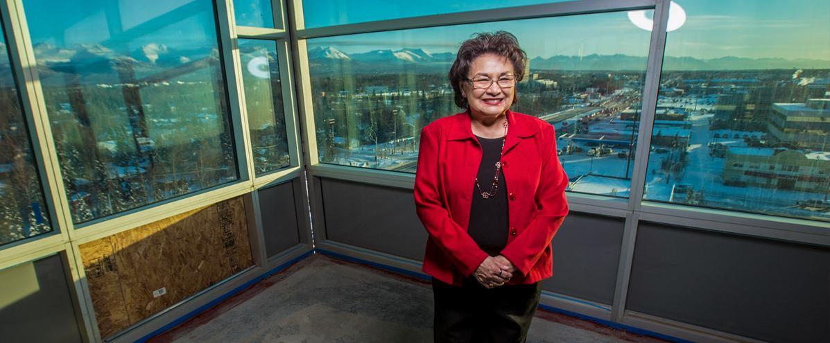 CIRI shareholders Deborah Fullenweider. (Photo by Andre Horton.)