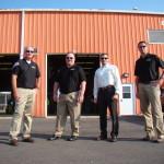 Members of the Portsmouth Mission Alliance team including Damon Detillion (far left) and John Bukowski (second from right).
