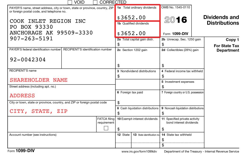 Tax Information - CIRI