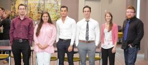 CIRI's 2016 summer interns.