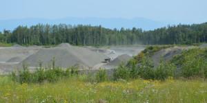 The Eklutna Gravel Site operates on land jointly owned by Eklutna Inc. (surface) and CIRI (subsurface). Photos courtesy of Joanna White/Eklutna Inc.