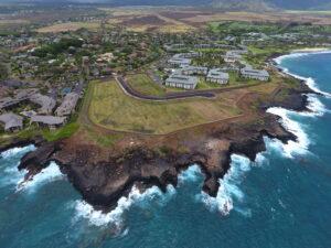 An aerial view showing the Makahu'ena Estates property. Photo courtesy of Makahu'ena Estates.