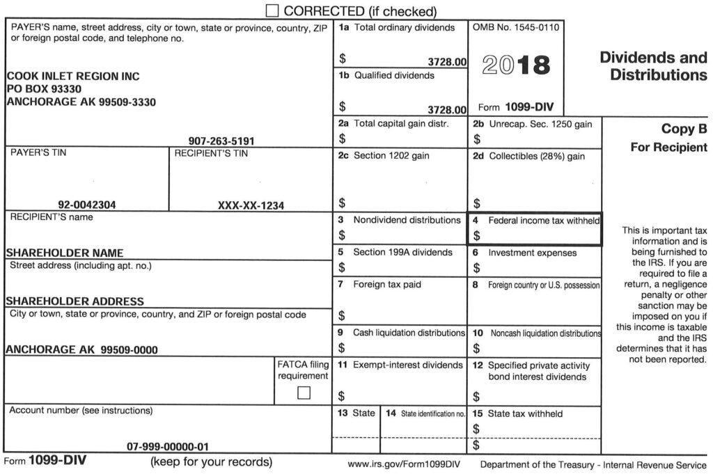 Tax Information – CIRI